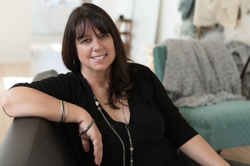 Kathy McEwan Professional Organizer Sitting