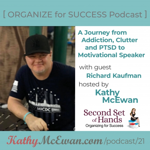A Journey from Addiction, Clutter & PTSD To Motivational Speaker