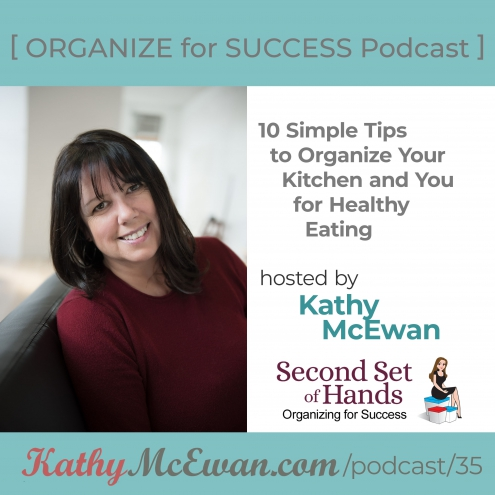 10 Simple Tips to Organize Your Kitchen And You For Healthy Eating