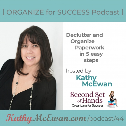 Declutter and Organize Paperwork in 5 easy steps