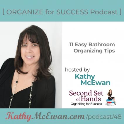 11 Easy Bathroom Organizing Tips